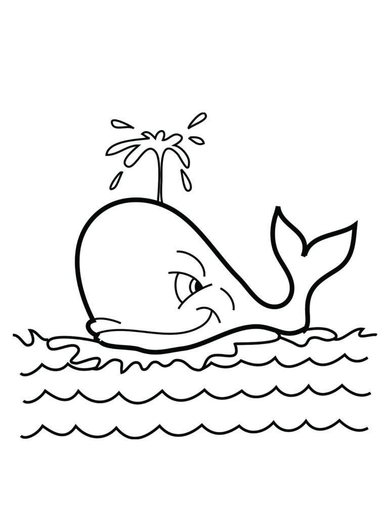 771x1024 Whale Coloring Pages For Kids Pixels Free