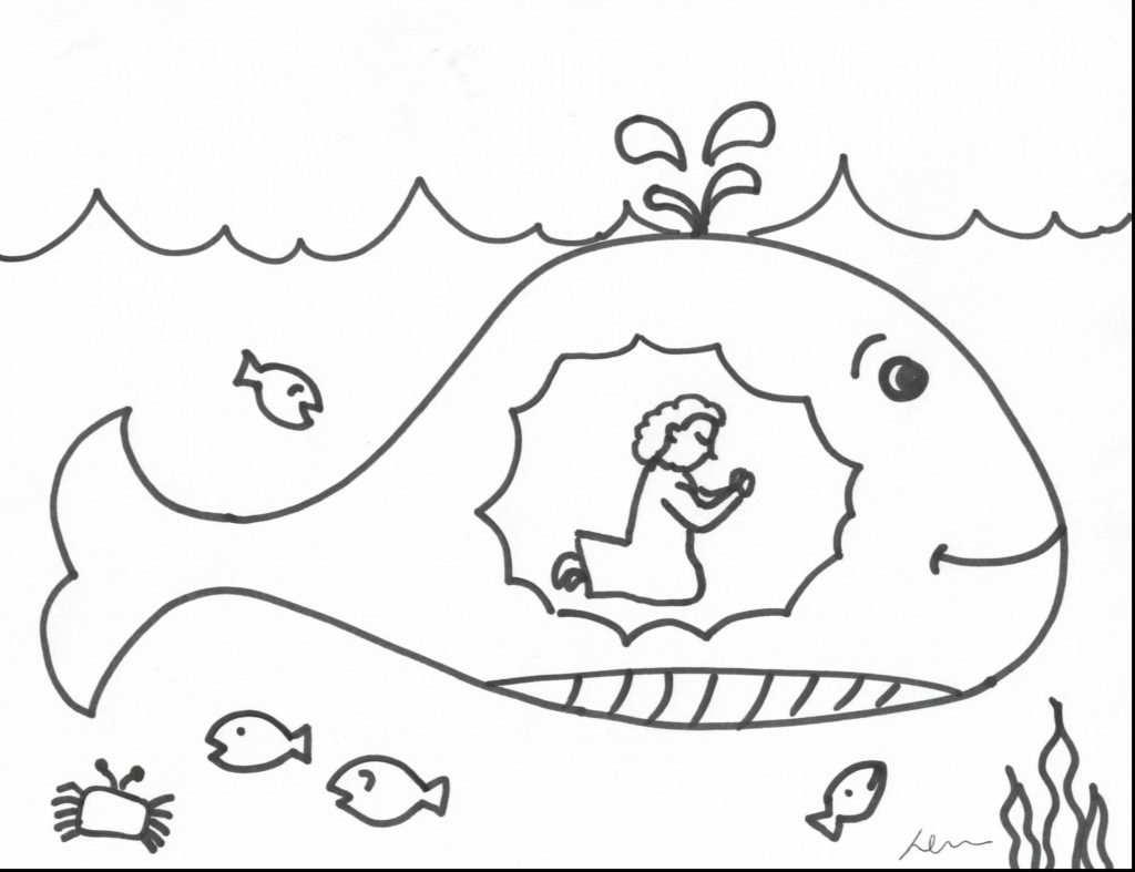 1024x787 Jonah Coloring Pages