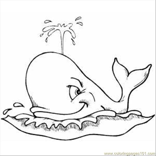 650x650 Whale Coloring Pages Printable
