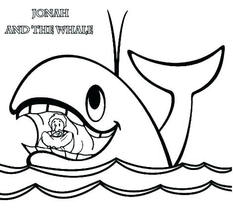470x423 Whale Coloring Page