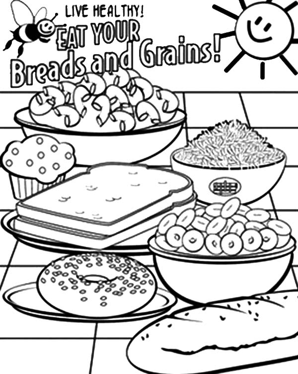 600x753 Stored Grain Coloring Pages