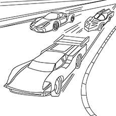 230x230 Top Free Printable Hot Wheels Coloring Pages Online