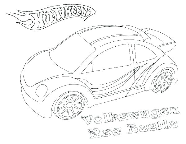 600x463 Hot Wheel Coloring Pages