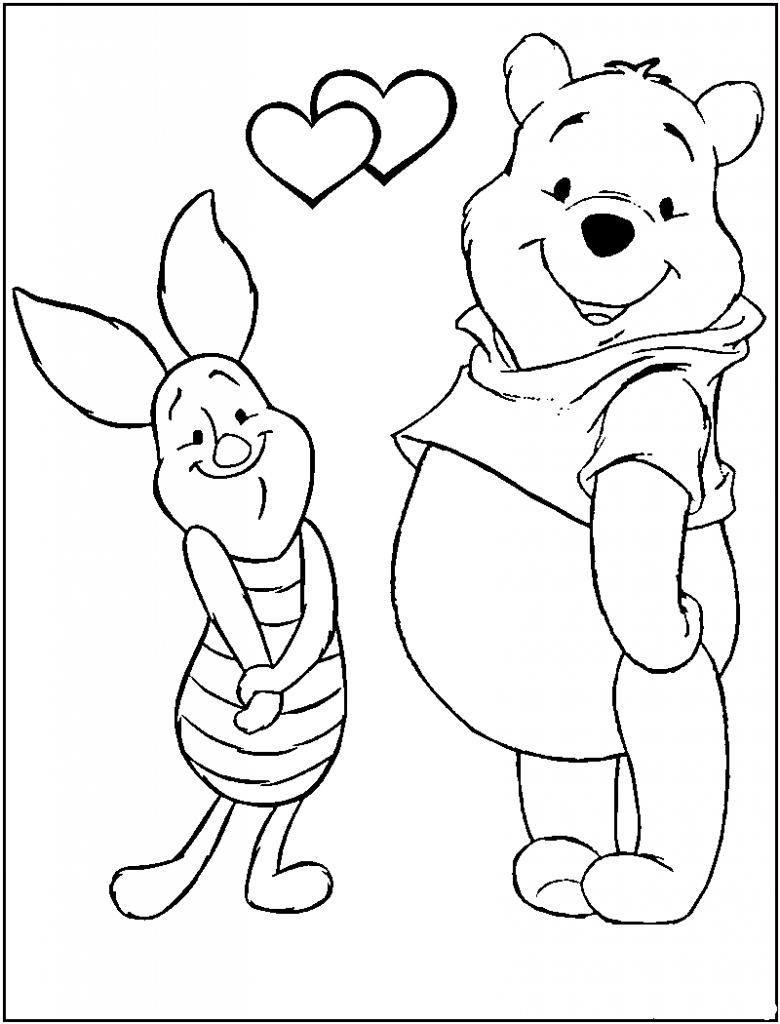 Whinney The Pooh Coloring Pages At GetDrawings