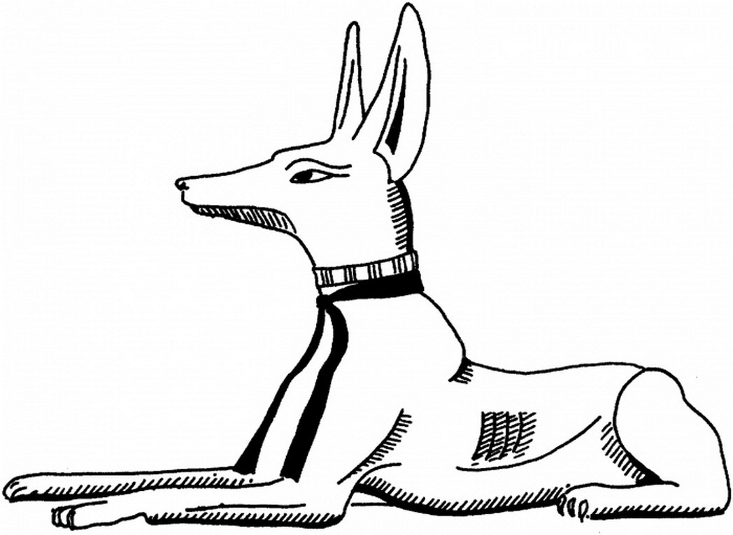 1048x765 Ancient Egypt Jackal Coloring Page Super Coloring Pages