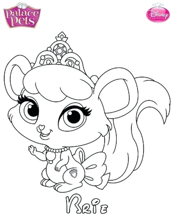 595x768 Ideas Palace Pets Coloring Pages For Princess Palace Pets Berry
