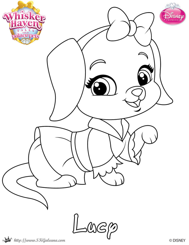 786x1017 Lucy Coloing Page From Whisker Haven