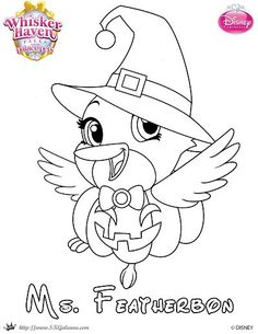 236x305 Mr Chow Halloween Coloring Page From Palace Pets Mr Chow, Palace