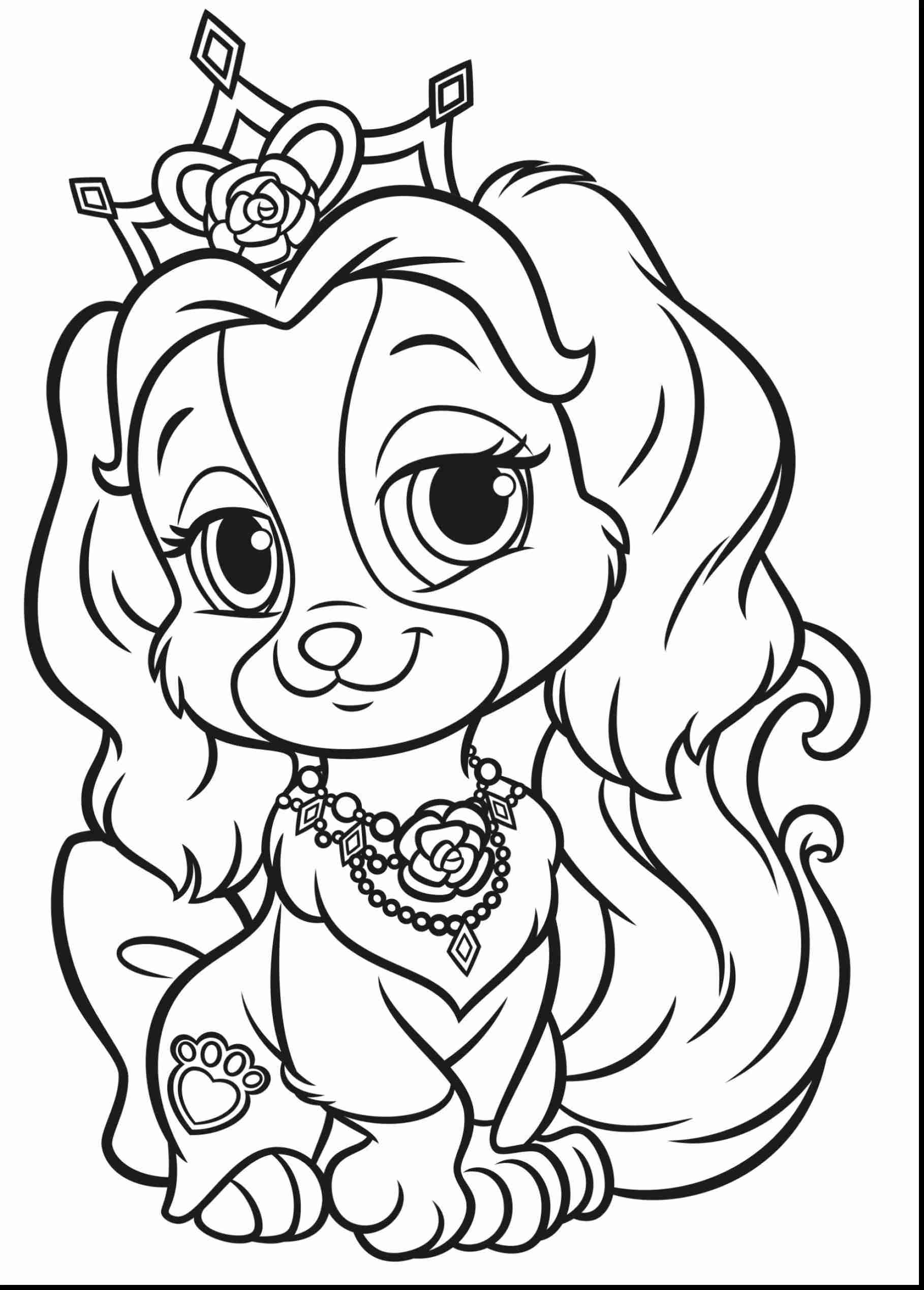 1818x2537 Palace Pets Coloring Pages Google Adorable