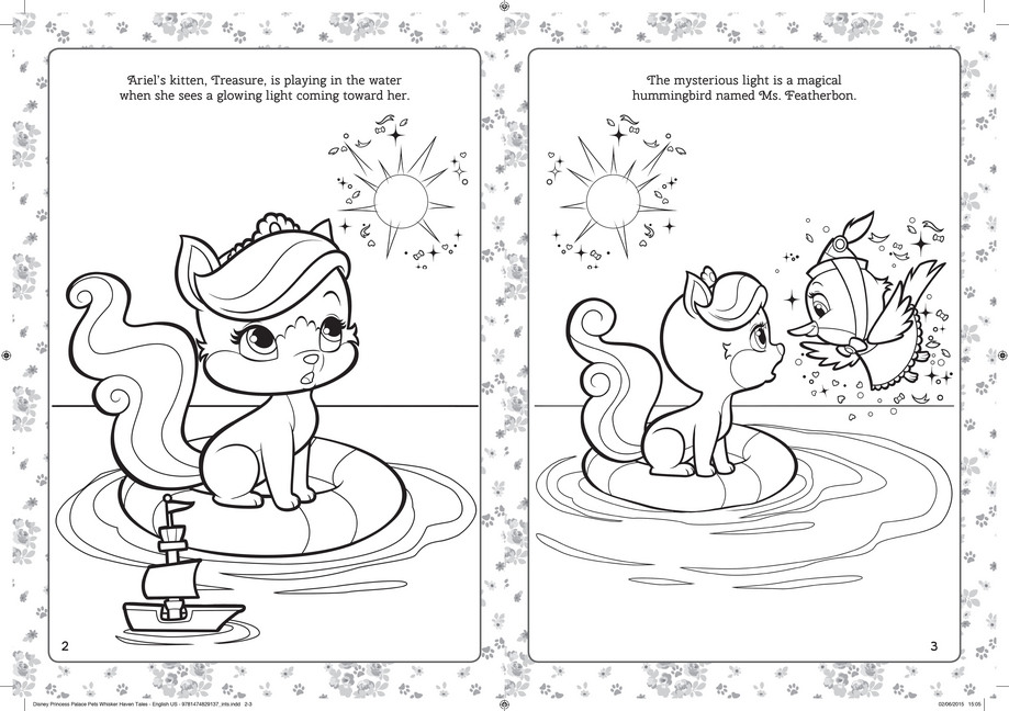 919x648 Whisker Haven Tales Coloring Page Of Miss Sophia Pictures To Pin