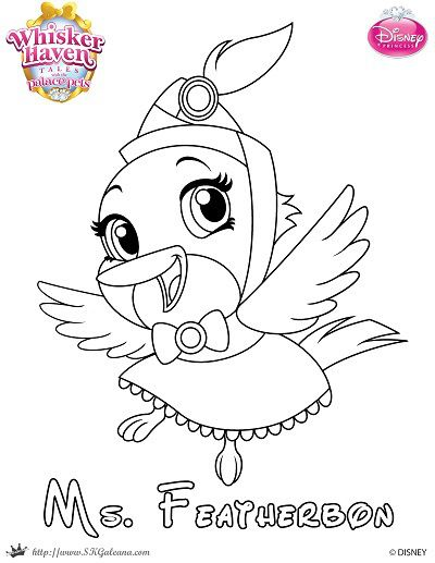 400x517 Whisker Haven Tales Coloring Page Of Ms Featherbon School