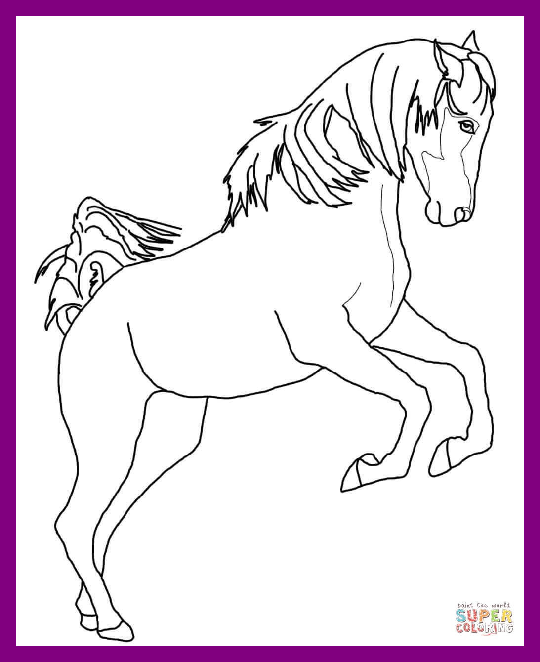 1093x1340 Astonishing Prince Phillip And Samson Horse Coloring Pages