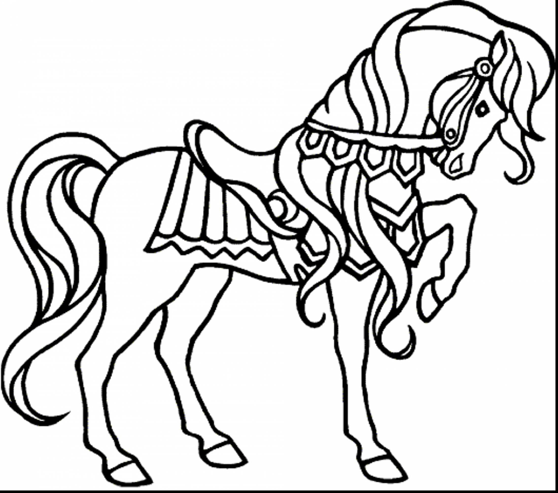 2200x1941 Awesome Coloring Pages Carousel Horses