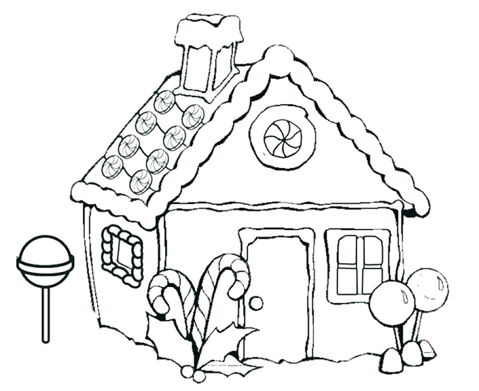 960x784 House Coloring Pages Printable White House Color Colouring