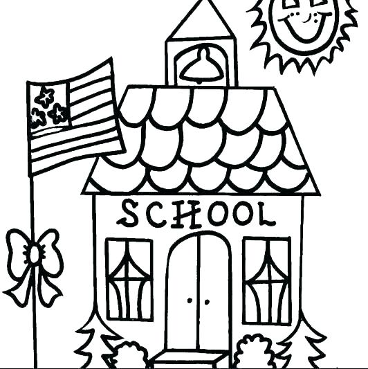 532x533 Monster House Coloring Pages House Coloring Page Gingerbread