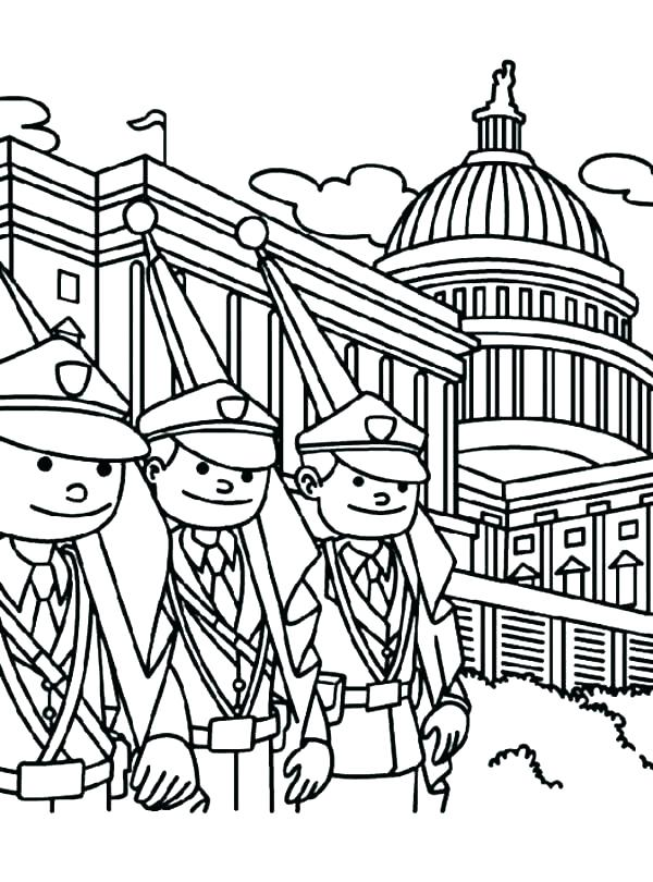 600x810 White House Coloring Pages Us History Coloring Pages Us History