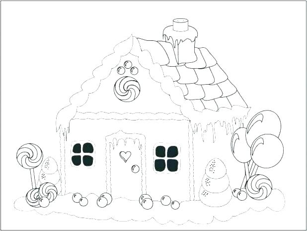 618x464 White House Coloring Page
