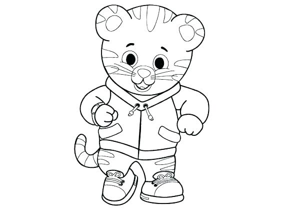 564x423 Tiger Pictures To Color White Tiger Coloring Pages Tiger Picture