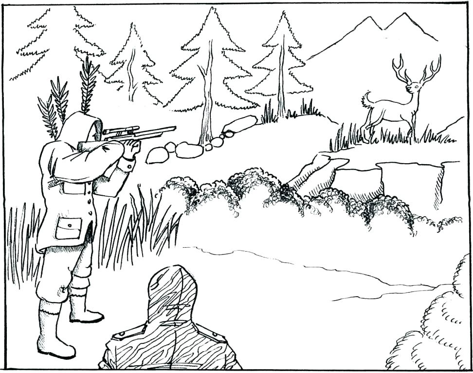 972x768 Whitetail Deer Coloring Pages Whitetail Deer Coloring Pages Deer