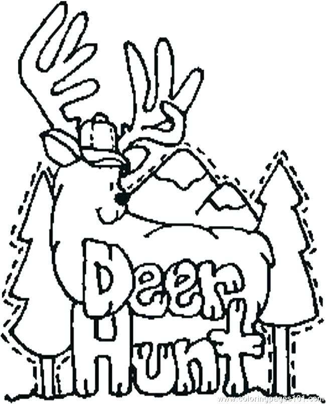 650x806 Deer Coloring Pages Lovely White Tailed Deer Coloring Pages Best