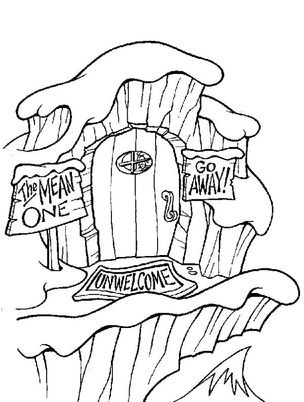 600x793 Whoville Coloring Pages Coloring Pages For Dr Seuss Whoville