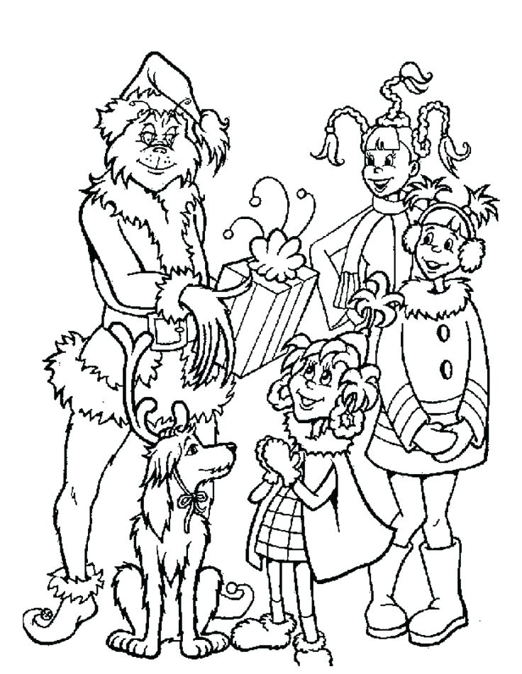 736x951 Whoville Coloring Pages Great Coloring Pages With Printable Free