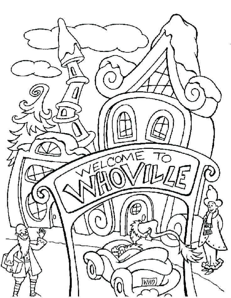 736x951 Whoville Colouring Pages Printable Coloring Coloring Pages