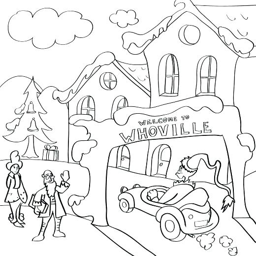 520x520 Coloring Whoville Coloring Pages