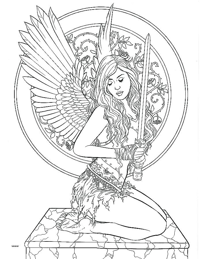 Wiccan Coloring Pages At Getdrawings Free Download