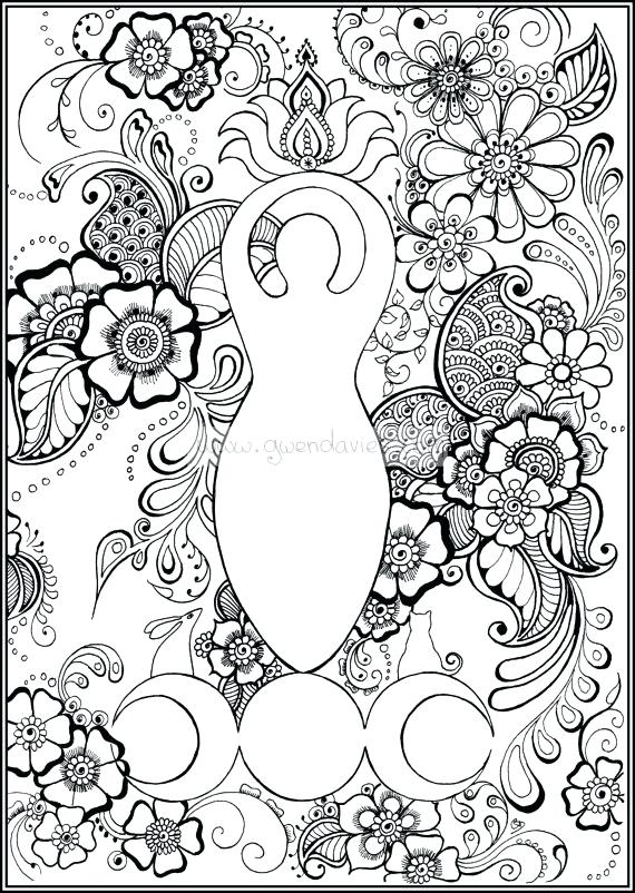 Wiccan Coloring Pages For Adults At Getdrawings Free Download