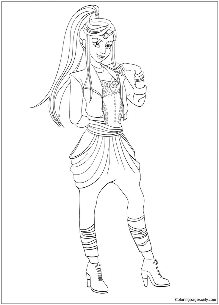 Wicked Coloring Pages