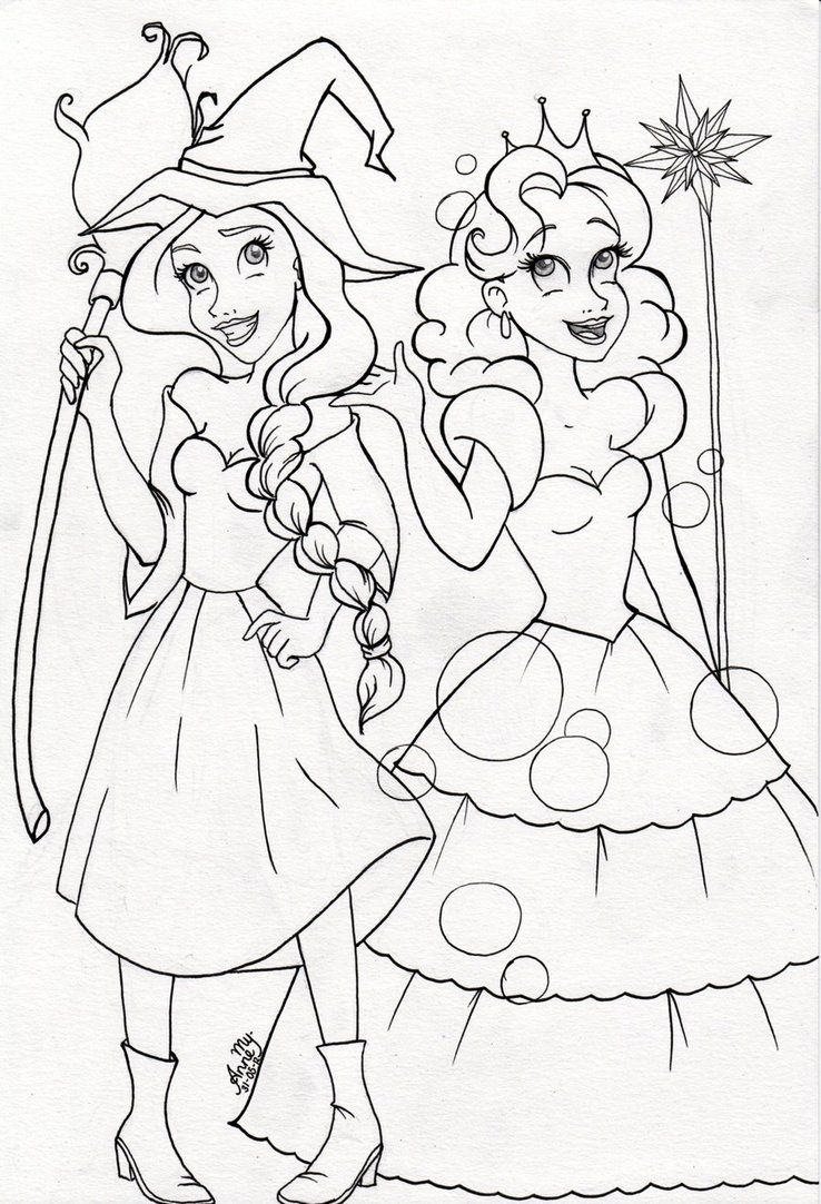 738x1082 It's A Coloring Page!! O Wicked Wicked Musical