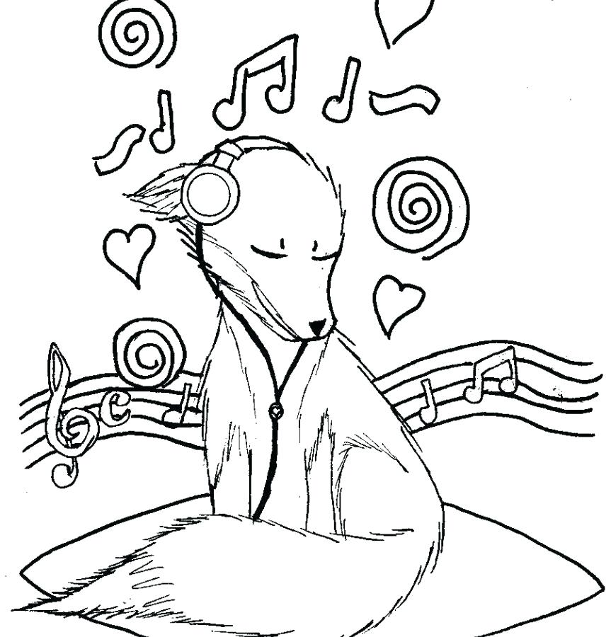 863x900 Musical Coloring Pages Music Theory Coloring Pages Free General