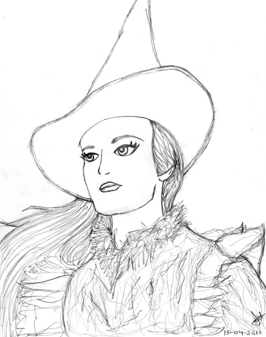 900x1140 Wicked Musical Coloring Pages