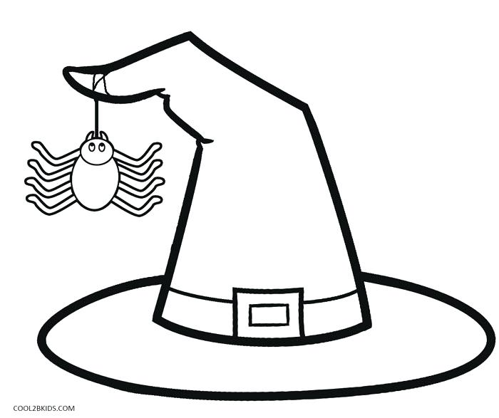 700x587 Witch Coloring Pages Witch Hat Coloring Pages Wicked Witch