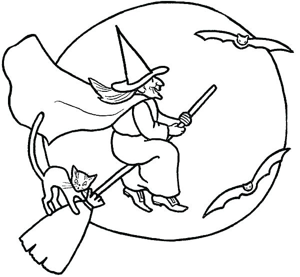 Wicked Witch Of The West Coloring Pages