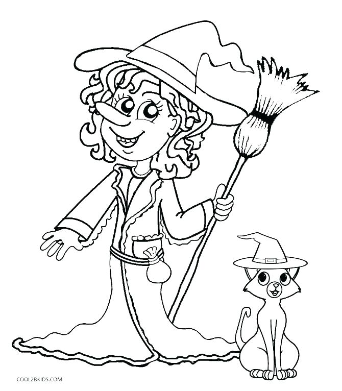 670x766 Witch Coloring Pages Witch Bats Flying Witch Coloring Pages Witch