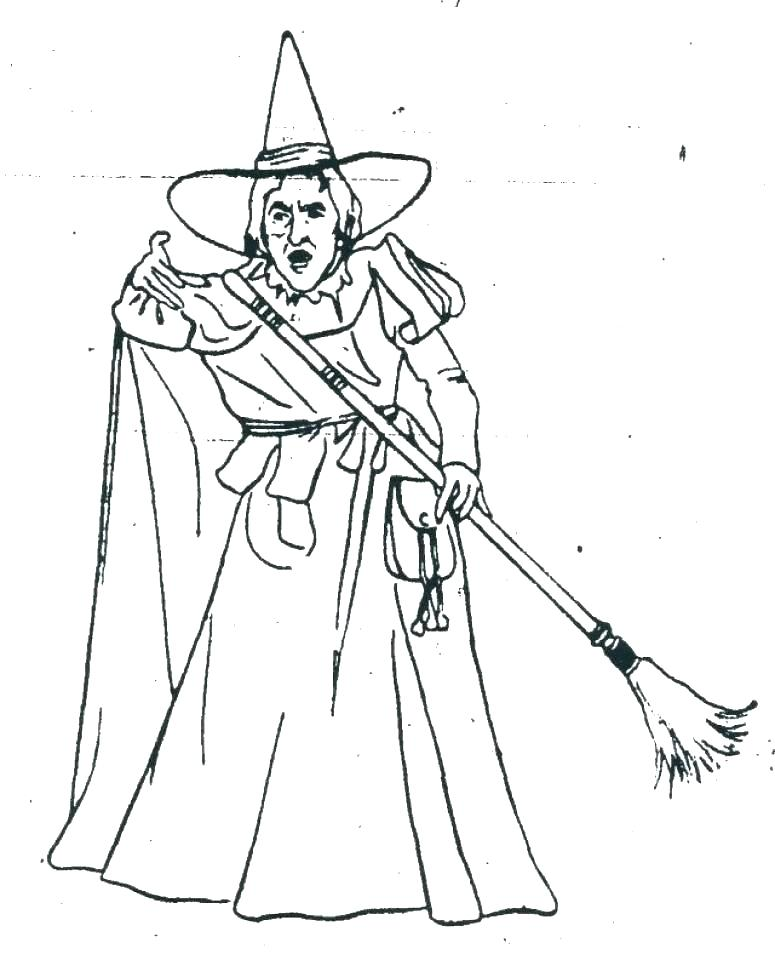 775x960 Wizard Oz Coloring Pages As Well As Trend Wicked Witch