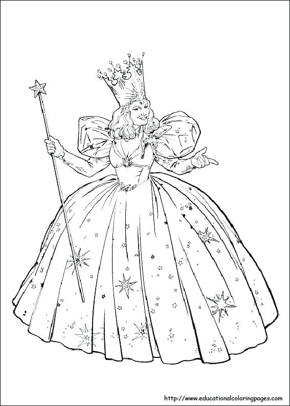 567x794 Wicked Witch Of The West Coloring Pages Wizard Of Oz Coloring
