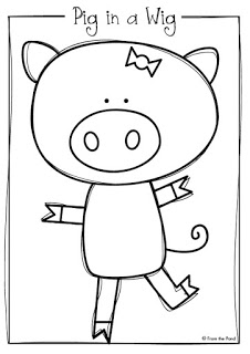 226x320 Pig In A Wig Printable Reader + Freebie From The Pond