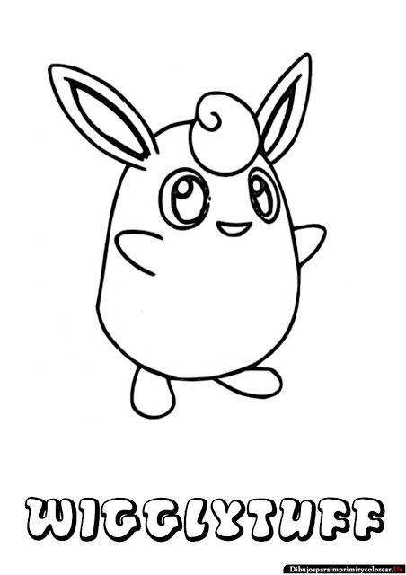 452x640 Dibujos De Pokemon Para Imprimir Y Colorear Wigglytuff