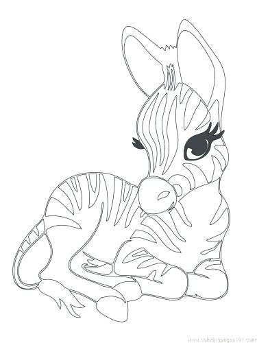 375x500 Printable Wild Animals Coloring Pages Coloring Pages Cute Baby