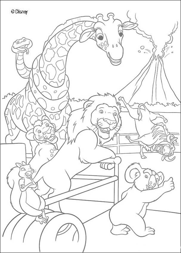 607x850 The Wild Coloring Book Pages