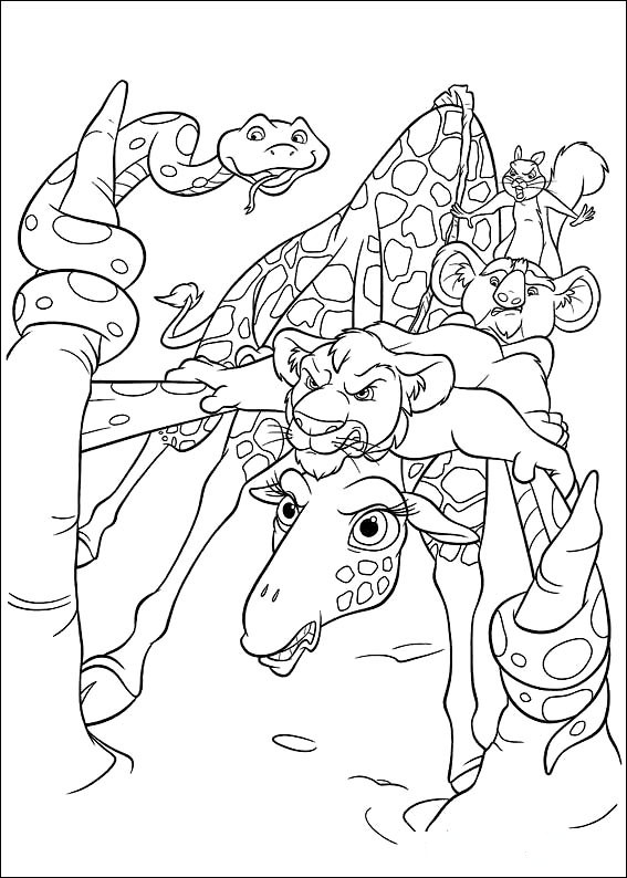 567x794 Coloring Page Disney Coloring Page The Wild