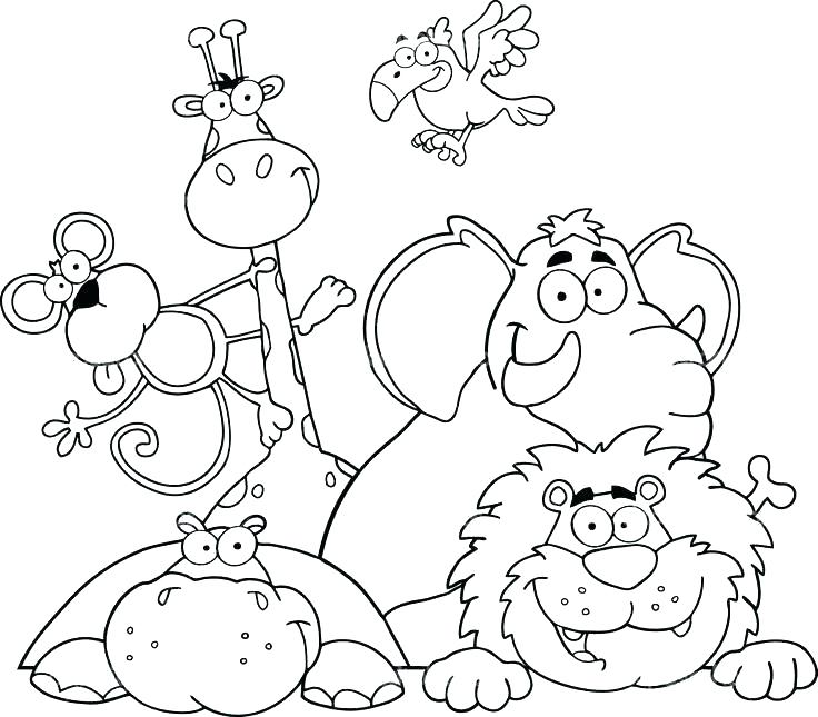 Wild Dog Coloring Pages