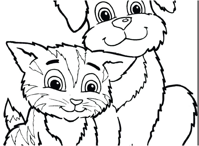 827x609 Realistic Cat Coloring Pages Realistic Cat Coloring Pages Images