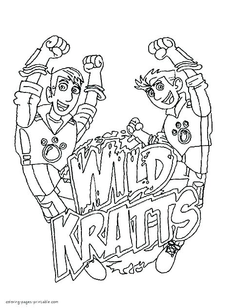 474x633 Wild Kratts Coloring Pages To Print Wild Coloring Pages Wild