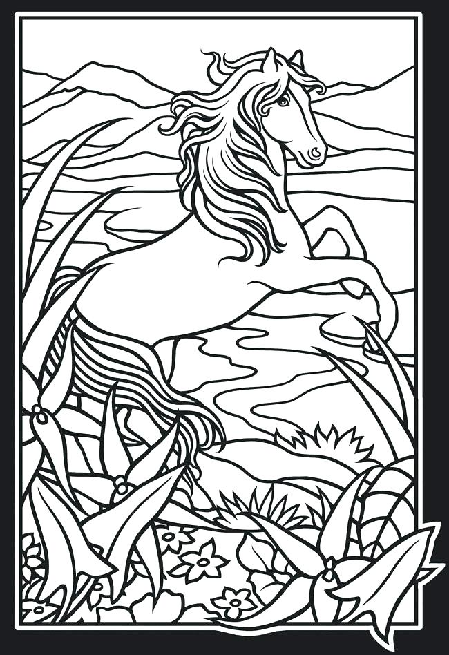 650x948 Marvellous Mustang Horse Coloring Pages Wild About Books Coloring