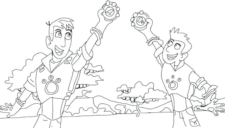 720x411 Wild Kratts Coloring Pages Gallery Of Wild Coloring Pages Wild