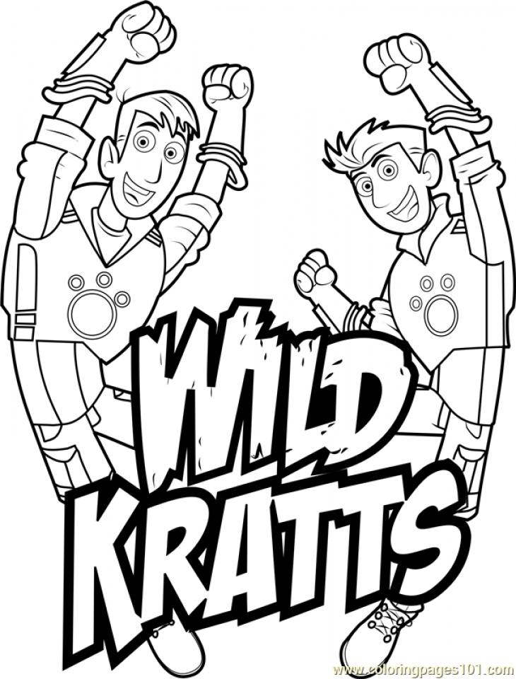 Inventive image throughout wild kratts printable coloring pages